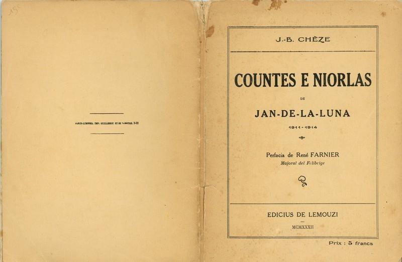 Countes e niorlas, Jean-Baptiste Chèze