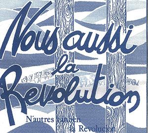 Nous aussi la Révolution (1)