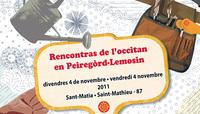 Las rencontras de l'occitan en Peiregòrd-Lemosin 1/3